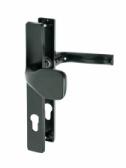 Kľučka hliníková s pevnou guľou, rozteč 90mm