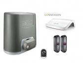 SOMFY Elixo 500 24V 3S io EE sada pohonu s fotobunkami, ovládačom a smart home hubom pre ovládanie cez smartfón