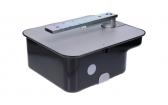 NICE MFABBOX - oceľový základový box pre pohony NICE M-Fab, lakovanie čiernej farby