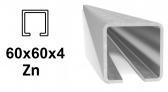 C-Profil 60x60x4 mm, Zn