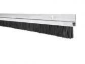 Hliníková tesniaca lišta s nylonovou kefou, vlas dĺžky 14 mm, bočná, 1m