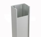 NICE PPH1 hliníkový stĺpik pre 1 fotobunku PHW