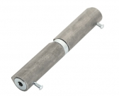 Samozatvárací pánt, dvojdielny, 150mm, navárateľný, pravý