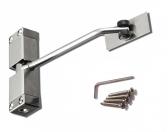 Nerezový dverový zatvárač pre dvere do 40kg, INOX