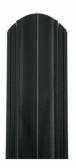 Oceľová plotová lamela Premium, čierna