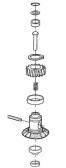 PRWNG05 - kit ozubených koliesok