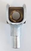 NICE PRMB05 mosadzná matica 6závit a vidlička pre Wingo WG3524, WG5000, WG5024, Moby rôzne modely