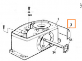 PPD1867A.4540 - krytka montážnych skrutiek