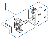 SPWIDE0001 - kompletný držiak ramena XBA19