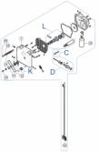 SPAMG247B00 - kit motora s prevodovkou