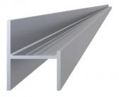 Hliníkový uchytávací profil pre lamely, tvar UT, šírka 29 mm, dĺžka 6 m
