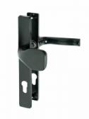 Kľučka hliníková s pevnou guľou, rozteč 72mm