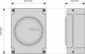 NICE Moonclever MC824HR10 - nová riadiaca centrála pre 24V pohony krídlových brán rodiny Toona