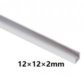 Hliníkový U profil 12x12x2mm