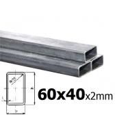 Sada joklových profilov pre výrobu posuvnej brány 60x40x2 mm
