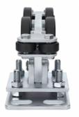 Vozík pre samonosný hliníkový systém 95x100x11mm