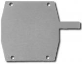 Záslepka pre hliníkový C-profil 95x100, pozinkovaná