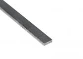 Nerezová plochá tyč 15x5mm (pásovina), kartáčovaná nerez