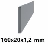 Žiarovo pozinkovaný joklový profil 160x20x1,2 mm