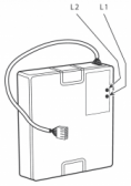 NICE PS324 - záložná batéria pohonu s integrovaným dobíjaním