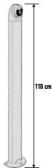 NICE MOCS - hliníkový stĺpik pre spínač (kľúčový, kartový, klávesnicu) 110 cm
