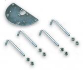 NICE PCM - základová platnička pre stĺpiky MOCS, MOCF, MOCF2