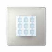 NICE NiceWay Opla-S - obal na tlačidlá NiceWay v tvare štvorca
