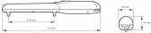 NICE Wingo WG2024 - samostatný pohon pre krídlové brány do krídla 2m/400kg