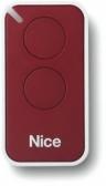 NICE Era Inti INTI2R – dvojkanálový diaľkový ovládač pre pohony NICE červený