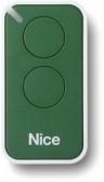 NICE Era Inti INTI2G – dvojkanálový diaľkový ovládač pre pohony NICE zelený