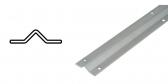 Koľajnica pre koľajovú bránu na skrutkovanie Zn, tvar V