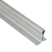 Koľajnica Ø16mm pre koľajovú bránu na zabetónovanie Zn, tvar U