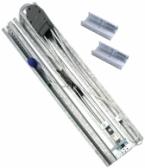 NICE SNA3X - rozmontovaná vodiaca lišta 3x1m pre remeň garážového pohonu