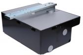 NICE LFABBOX4 - oceľový základový box pre pohony NICE L-Fab, lakovanie čiernej farby