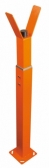 NICE WA11 - oranžová výškovo nastaviteľná opora pre rameno