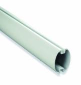 NICE XBA19 - biele lakované hliníkové rameno 45x58x4000mm