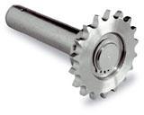 NICE CRA1 - hriadeľ priemeru 25,4mm s 18 zubovým ozubením