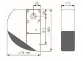 NICE Sumo SU2000 - pohon sekčnej garážovej alebo závesnej posuvnej brány