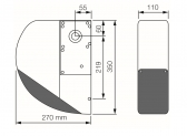 NICE Sumo SU2000VV - pohon sekčnej garážovej alebo závesnej posuvnej brány