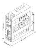 NICE LP21 - jednokanálový 24V magnetický detektor kovu FEIG VEK MNH1-R24-A