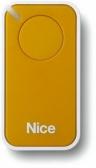NICE Era Inti INTI1Y – jednokanálový diaľkový ovládač pre pohony NICE žltý