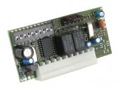 NICE FLOXI2 - interný dvojkanálový príjímač s pevným kódom