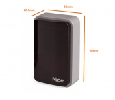 NICE Era Photocell Medium EPMB - bezpečnostné fotobunky pre pohon