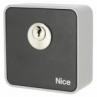 NICE Era Key Switch EKS - kľúčový spínač s jednoduchou vložkou, povrchová montáž