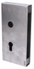 Kazeta zámku 215x105x30 mm pre hákový zámok, KZK100
