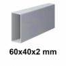 Žiarovo pozinkovaný joklový profil 60x40x2 mm
