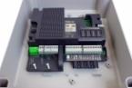 NICE MC800 - riadiaca centrála pre dva 230V motory s riadiacou jednotkou NICE MCA5.