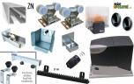 Sada pre výrobu samonosnej posuvnej brány do 3,2m, ZN C-profil a pohon
