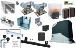 Sada pre výrobu samonosnej posuvnej brány do 4,5m, ZN C-profil a pohon