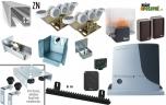 Sada pre výrobu samonosnej posuvnej brány do 6,5m, ZN C-profil a pohon